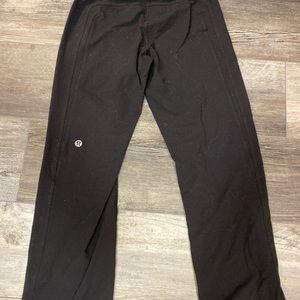 Black Lululemon Sweat pants